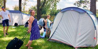 Niewidzialne Dzieci - camping